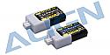 Align T-Rex 150 DFC 2S 1P LiPo Battery 30C (2) (7.4V/250mAh)  AGNHBP02501
