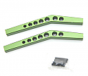 Axial Wraith HD Green Aluminum Upper Suspension Links  STRSTA80083UG