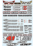 Team Associated RC10 T4.1 Decal Sheet