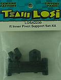 Team Losi 1/10th Scale Rear Inner Pivot Support Set/XX  LOSA2230