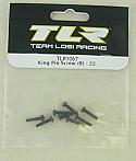 Team Losi Racing 22 1/10 Scale Buggy King Pin Screw Set (8)