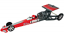 Estes 1/24 Scale Rocket-Powered Dragster, Red Skill Level-ARF  EST2501