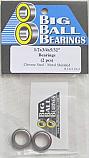 "1/2x3/4x5/32"" Metal Shielded Bearings (2 Pieces)"