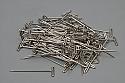 """100 Medium Nickel Plated T-Pins (1 1/4"""" Long)"""
