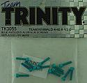 Trinity 4-40 x 1/2 Blue Anodized Socket Head Screws (12pcs)  TRITK3055