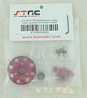 Traxxas REVO 3.3 Red Aluminum 3-Shoe Clutch Conversion Set