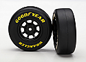Traxxas 1/16 Rally Pre-Mounted 1.9 Goodyear Wrangler Tires & Wheels (2)