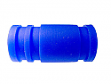 1/8th Scale Blue Silicone Exhaust Coupler