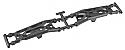 Team Durango 1/10th Scale Front Suspension Arms/DEST210R/DESC210R  TDRTD330380