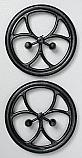 "Du-Bro Micro Lite 1-1/2"" Diameter R/C Airplane Wheels"
