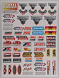 "Parma 6 x 8"" Monster Jam Decal Sheet for R/C Trucks  PAR10777"