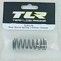 Team Losi Racing 22 1/10 Scale Buggy 2.9 Orange Rate Rear Shock Spring