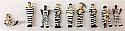 Model Power N Scale Prisoner Road Work Gang (White/Black Stripes) MDP1376