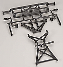 Arrma 1/10th Scale Rear Bumper/Body Mount Set/Fury  ARAAR320061
