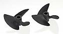 "Aquacraft Super Vee Fiber Reinforced Plastic (FRP) 40mm 3/16"" Shaft 3-Blade Propellers AQUB7888"