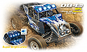 Dromida DB4.18BL 1/18th Scale Brushless 2.4Ghz RTR 4WD Desert Buggy  DIDC0055