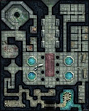 Paizo Gamemastery Flip-Mat: Dungeon for Fantasy Role Play games PZOSQW30013