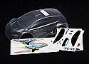 Traxxas 1/16 Ford Fiesta Clear Body w/Decals