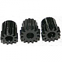 "Novak 1/8"" MOD 0.6 14T/15T/16T Black Hard Anodized Pinion Gears  NOV5201"