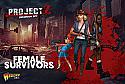 Project Z Zombie Miniatures Game: Female Survivors Expansion Set WRLZZOM04 10 Minis