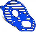 "Exotek 1/10th Scale Vented ""Flite"" Motor Plate Blue/RC10B5/B5M  EXO1454BLU"