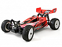 Hot Bodies Cyclone D4 1/10 Off-Road Buggy CLEAR Body Set