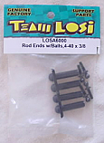 Team Losi 4-40x3/8 Ball Studs & Rod Ends