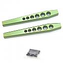 Axial Wraith HD Green Aluminum Lower Suspension Links  STRSTA80083LG