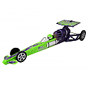 Estes 1/24 Scale Rocket-Powered Dragster, Green Skill Level-ARF  EST2503