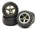 Integy Wheel & Tire Set (4)/1/16 Traxxas E-Revo/Slash VXL  INTT3462GUN