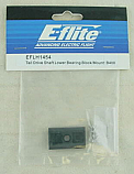E-flite Blade 400 Tail Drive Shaft Lower Bearing Block/Mount
