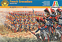 1/72nd Napoleonic Wars French Grenadiers Infantry Models