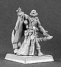 Warlord Ranthe Evangelist Of Khardullis Overlords Cleric Miniature  RPR14284