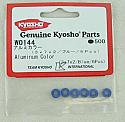 Kyosho 3x7x2mm Aluminum Collars