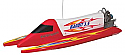 Thunder Tiger Bandit PRO 3.5CC RTR Nitro Tunnel Hull Racing Boat w/Outboard TTR5212-F4R