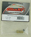 Team CoRally RDX Ultra Low Balancing Weight 8 grams