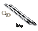 Team Associated 1/10 Factory Team 3x21mm V2 Front Shock Shafts, Chrome  ASC91616