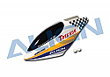 Align Electric T-Rex 600 Helicopter White Checkerboard Painted Canopy AGNH60134