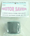 1/8th Scale Buggy/Truck Air Filter Foam (2-Stage)