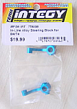 Associated RC10 T4/B4 Blue Alloy In-Line Steering Block Set