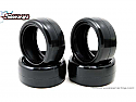 Sweep Racing 25Deg HPI/Tamiya Mini Slick Rubber Tires (4pcs)