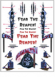 Reaper 1/10th Scale Decal Set