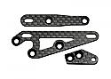 Axial Racing XR10/XR-10 Carbon Fiber F/R Servo Mounts/Steering Arm