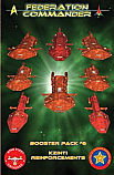 Federation Commander: Kzinti Reinforcements - Booster Pack #6  ADB4206
