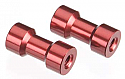 Axial AX-10/AX10 Scorpion Red 7x15mm Post
