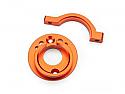 HPI Racing Switch Orange Aluminum Motor Mount Set