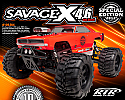 HPI Savage X 4.6 Special Edition Ready-Ro-Run Nitro Monster Truck w/Charger Body HPI106364