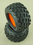 GRP Gandini Block 2.2 Tires w/Pre-Molded Foams GF03C