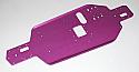 HPI Racing Nitro RS4 3 Purple Aluminum Main Chassis 2.5mm