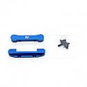 Kyosho Ultima SC/USC-R/RT5/RB5 Blue Aluminum Rear Pivot Blocks